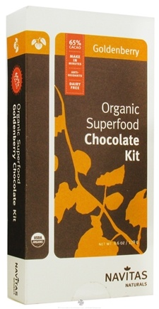 DROPPED: Navitas Naturals - Organic Superfood Chocolate Goldenberry Kit - 4.6 oz. CLEARANCE PRICED