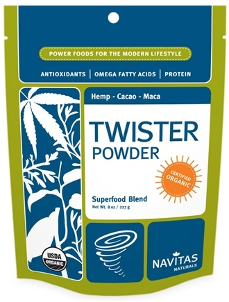 DROPPED: Navitas Naturals - Twister Power Protein Blend Certified Organic - 16 oz. CLEARANCE PRICED
