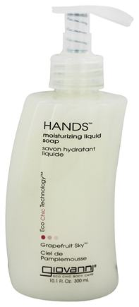 Giovanni - Hands Liquid Soap Moisturizing Grapefruit Sky - 10.1 oz.