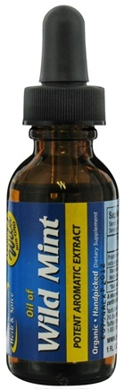 DROPPED: North American Herb & Spice - Wild Mint Potent Aromatic Extract - 1 oz. CLEARANCE PRICED