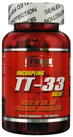 DROPPED: iForce Nutrition - TT-33 Metabolic Accelerator Agent - 120 Capsules CLEARANCE PRICED