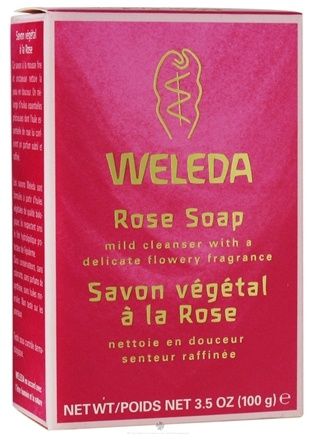 DROPPED: Weleda - Rose Soap - 3.5 oz. CLEARANCE PRICED