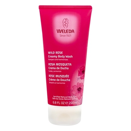 Weleda - Wild Rose Creamy Body Wash - 7.2 oz.