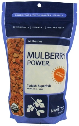 DROPPED: Navitas Naturals - Mulberry Power Mulberries Certified Organic - 16 oz. CLEARANCE PRICED