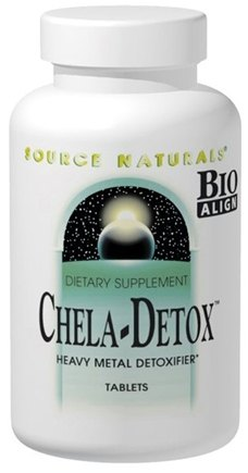 DROPPED: Source Naturals - Chela-Detox - 30 Tablets