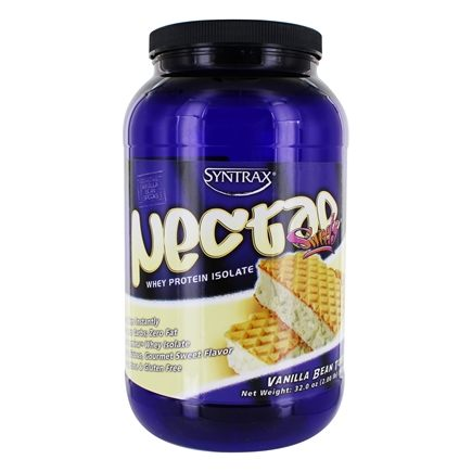 Syntrax - Nectar Sweets Whey Protein Isolate Vanilla Bean Torte - 2.04 lbs.