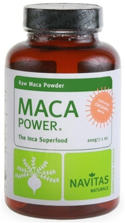 DROPPED: Navitas Naturals - Maca Power Raw Maca Powder Certified Organic - 7.1 oz.