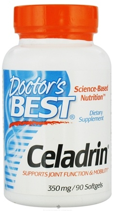 DROPPED: Doctor's Best - Celadrin 350 mg. - 90 Softgels
