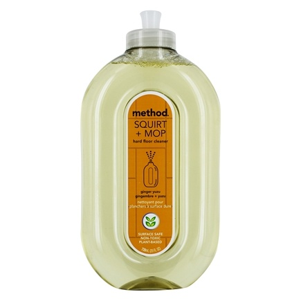Method - Hard Floor Cleaner Squirt and Mop Ginger Yuzu - 25 oz.