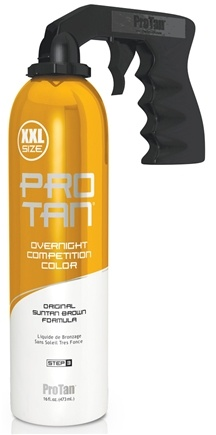 DROPPED: Pro Tan - Overnight Competition Color with Spray Applicator - 16 oz. CLEARANCE PRICED
