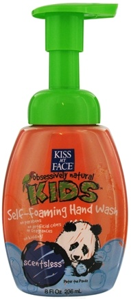 DROPPED: Kiss My Face - Kids Self-Foaming Hand Wash Scentsless - 8 oz.