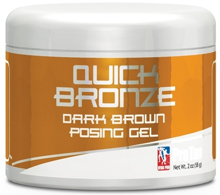 DROPPED: Pro Tan - Quick Bronze Dark Brown Posing Gel - 2 oz. CLEARANCE PRICED