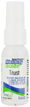 DROPPED: King Bio - Mind Body Remedies Trust - 1 oz. CLEARANCE PRICED