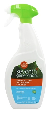 Seventh Generation - Disinfecting Bathroom Cleaner Spray Lemongrass Citrus - 26 oz.