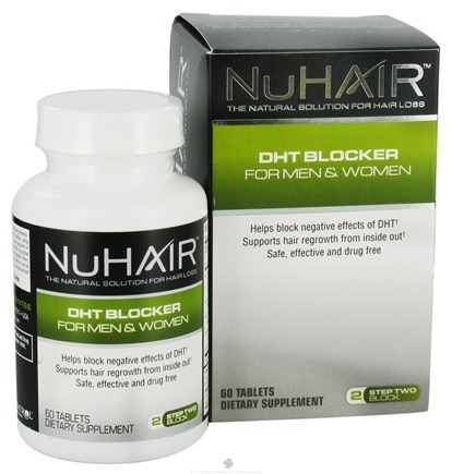 DROPPED: Nu Hair - DHT Blocker For Men & Women - 60 Tablets Formerly by Biotech Labs