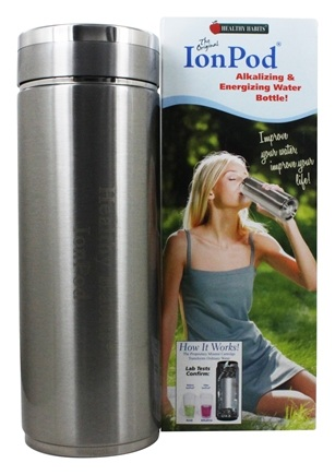 Healthy Habits - IonPod Portable Alkalizing Water Bottle - 12 oz.