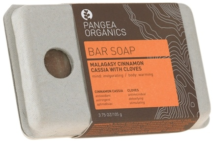 DROPPED: Pangea Organics - Bar Soap Invigorating & Warming Malagasy Cinnamon Cassia With Cloves - 3.75 oz. CLEARANCE PRICED