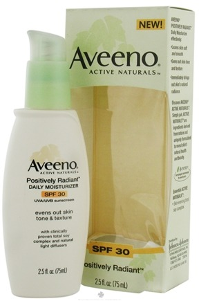 DROPPED: Aveeno - Active Naturals Positively Radiant Daily Moisturizer SPF 30 - 2.5 oz.