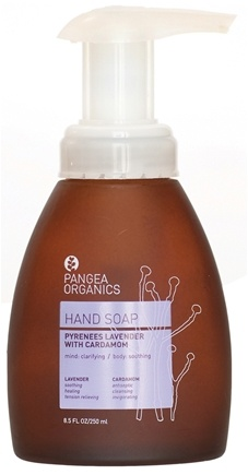 DROPPED: Pangea Organics - Liquid Hand Soap Clarifying & Soothing Pyrenees Lavender With Cardamom - 8.5 oz.