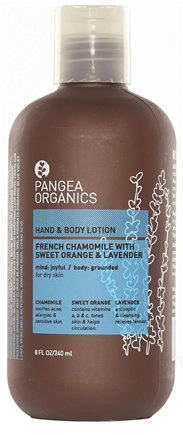 DROPPED: Pangea Organics - Hand & Body Lotion Joyful & Soothing French Chamomile With Sweet Orange & Lavender - 8 oz.