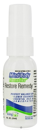 DROPPED: King Bio - Mind Body Remedies Restore - 1 oz. CLEARANCE PRICED