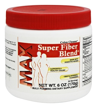 DROPPED: Health Plus - Super Fiber Blend Colon Cleanse MAX - 6 oz. CLEARANCE PRICED