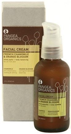 DROPPED: Pangea Organics - Facial Cream For Oil-Rich Skin French Chamomile & Orange Blossom - 2 oz. CLEARANCE PRICED
