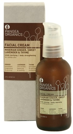 DROPPED: Pangea Organics - Facial Cream For Normal to Combination Skin Nigerian Ginger Sweet Lavender & Thyme - 2 oz.