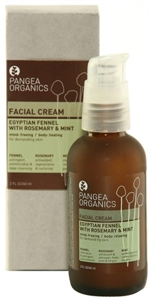DROPPED: Pangea Organics - Facial Cream For Demanding Skin Egyptian Fennel With Rosemary & Mint - 2 oz.