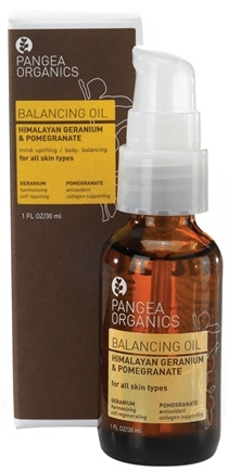 DROPPED: Pangea Organics - Balancing Oil For All Skin Types Himalayan Geranium & Pomegranate - 1 oz.