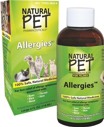 DROPPED: King Bio - Natural Pet Allergies For Felines Large - 4 oz. CLEARANCE PRICED