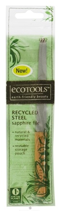 DROPPED: Eco Tools - Recycled Steel Sapphire Nail File - CLEARANCE PRICED