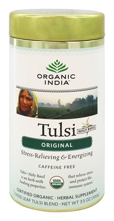 Organic India - Tulsi Loose Leaf Tea Original - 3.5 oz.