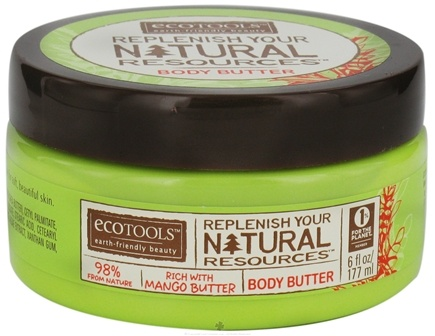 DROPPED: Eco Tools - Body Butter Replenish Your Natural Resources Rich With Mango Butter - 6 oz. CLEARANCE PRICED