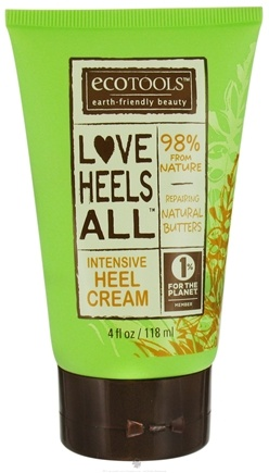 DROPPED: Eco Tools - Intensive Heel Cream Love Heels All With Repairing Natural Butters - 4 oz.