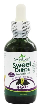 SweetLeaf - Sweet Drops Liquid Stevia Grape - 2 oz.