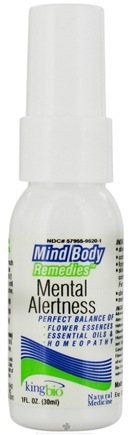 DROPPED: King Bio - Mind Body Remedies Mental Alertness - CLEARANCE PRICED