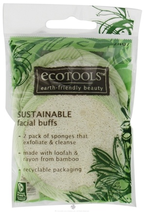 DROPPED: Eco Tools - Sustainable Facial Buffs - 2 Pack CLEARANCE PRICED