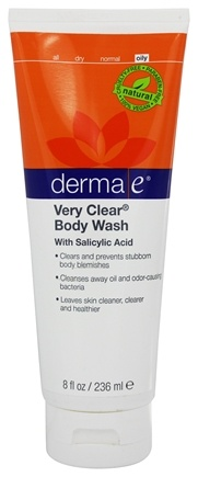 DROPPED: Derma-E - Very Clear Problem Skin Body Wash - 8 oz.