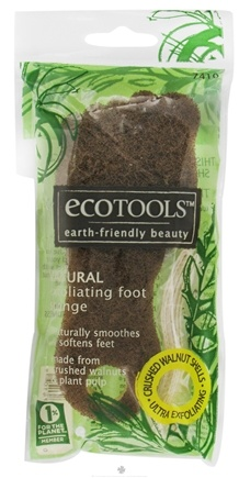 DROPPED: Eco Tools - Natural Exfoliating Foot Sponge - CLEARANCE PRICED