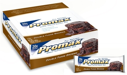 DROPPED: Promax - Energy Bar Double Fudge Brownie - 2.64 oz.
