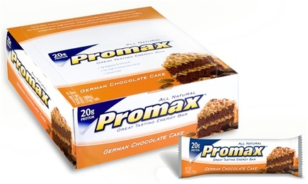 DROPPED: Promax - Energy Bar German Chocolate Cake - 2.64 oz.
