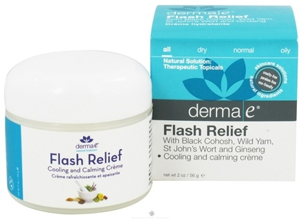DROPPED: Derma-E - Flash Relief Cooling and Calming Creme - 2 oz.