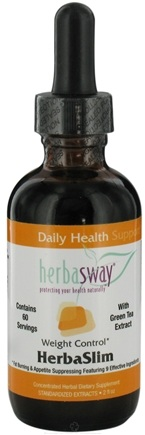 DROPPED: HerbaSway - HerbaSlim with Green Tea Extract - 2 oz. CLEARANCE PRICED