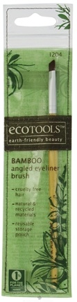 DROPPED: Eco Tools - Bamboo Angled Eyeliner Brush - CLEARANCE PRICED