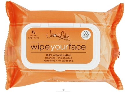 DROPPED: Jamar Labs - Wipe Your Face - 30 Count CLEARANCE PRICED
