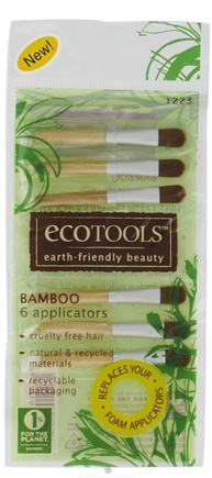 DROPPED: Eco Tools - Bamboo Applicators - 6 Pack CLEARANCE PRICED