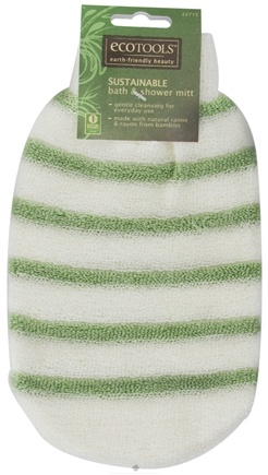 Eco Tools - Sustainable Ramie & Bamboo Bath & Shower Mitt