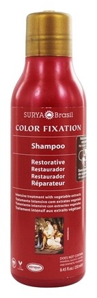 Surya Brasil - Henna Color Fixation Intensive Treatment Restorative Shampoo - 8.45 oz.