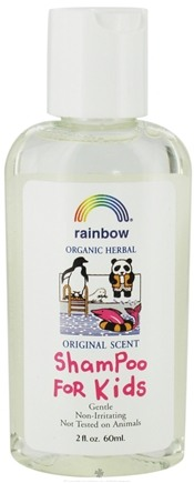 DROPPED: Rainbow Research - Shampoo For Kids Travel Size Original - 2 oz. CLEARANCE PRICED